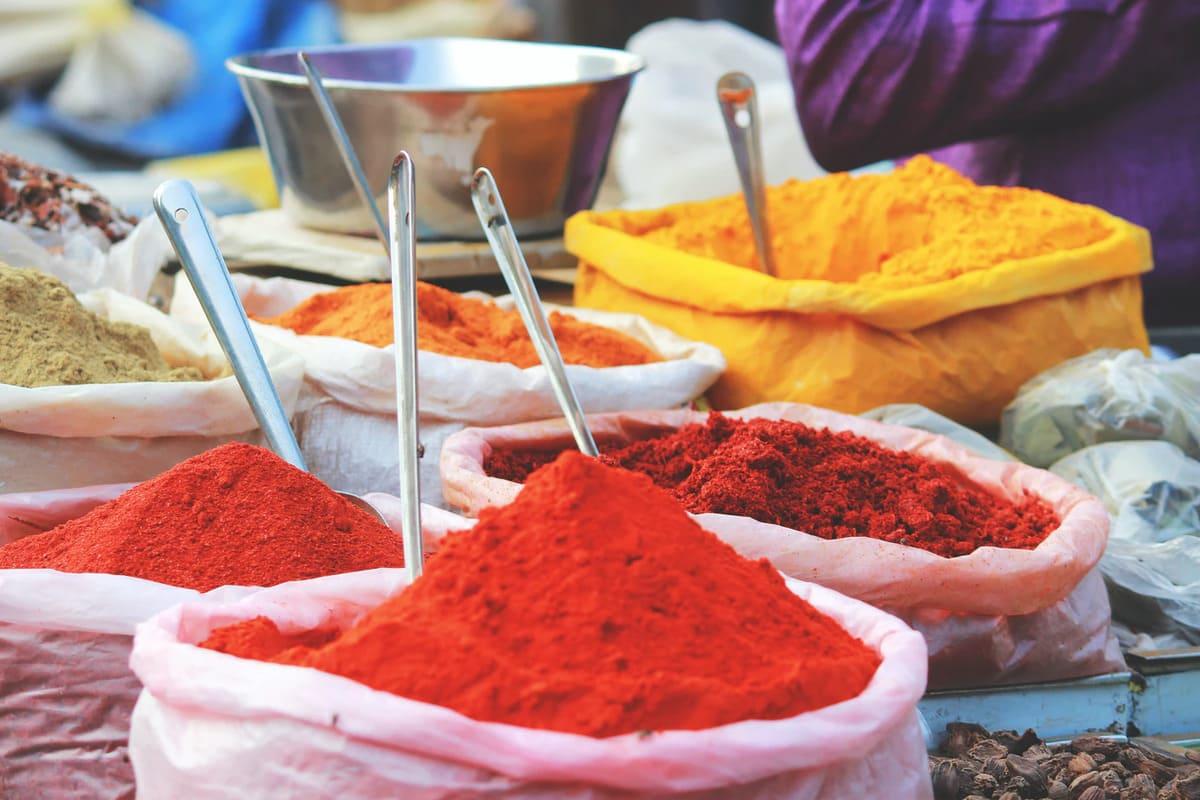 Especias de la India