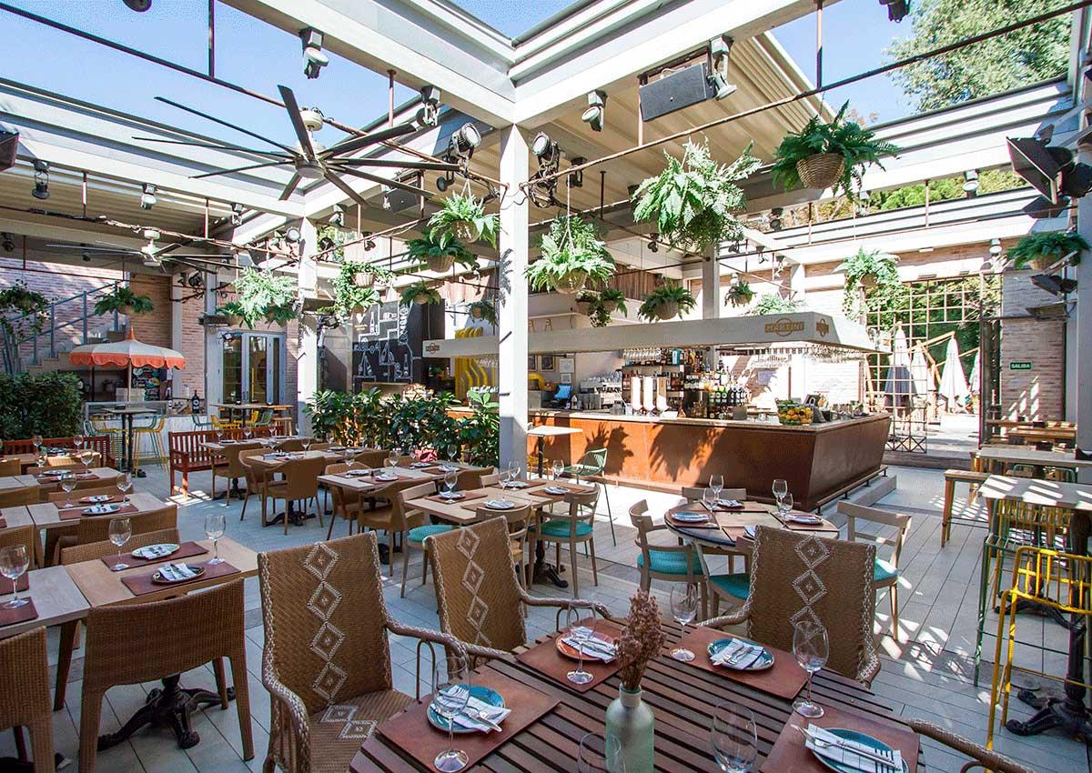 Comer en verano en Madrid